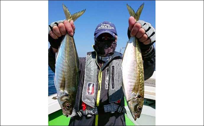 【大分・熊本】沖釣り最新釣果 イサキ・アジ・タチウオいずれも大型有望