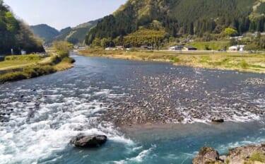 【2021岐阜】鮎トモ釣りオススメ河川:長良川郡上漁協管内