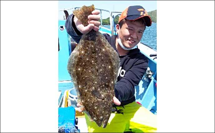 【愛知・三重】沖のエサ釣り最新釣果 ウタセ五目釣りで尺メバル顔出し