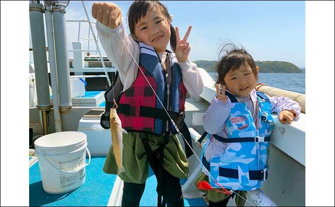 【福岡】沖のエサ釣り最新釣果 子供と一緒に楽しめるキス釣り堪能