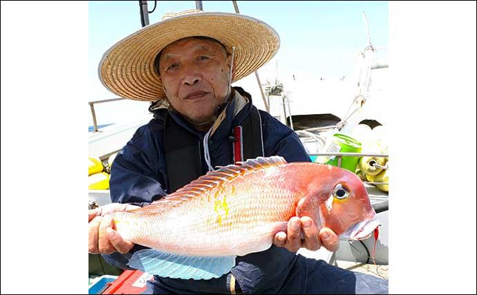 【玄界灘】沖のエサ釣り最新釣果 子連れ釣行で7kgタカバをキャッチ