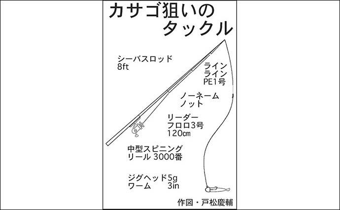 ボートロックゲームでカサゴ激釣 初挑戦でもツ抜け達成【名古屋港】