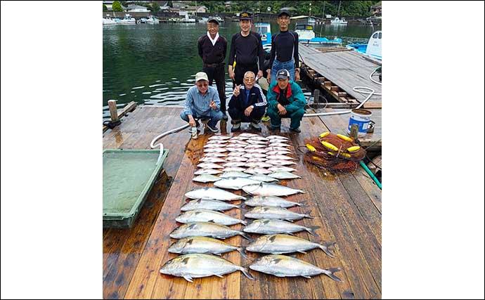 【三重】海上釣り堀&イカダ最新釣果 エギングや泳がせでアオリイカ好調