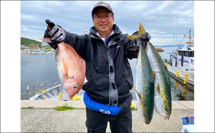【愛知・三重】沖のルアー最新情報 幻の魚「シロアマダイ」が絶好調