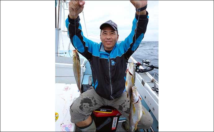 【玄界灘】沖のエサ釣り最新釣果 五目船でアマダイや高級根魚の好土産