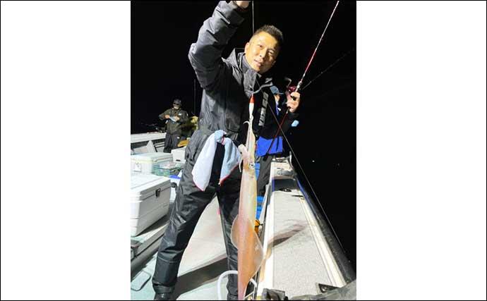 【玄界灘】夜焚きイカ最新釣果 2021年は大型好調でパラソル級に好期待