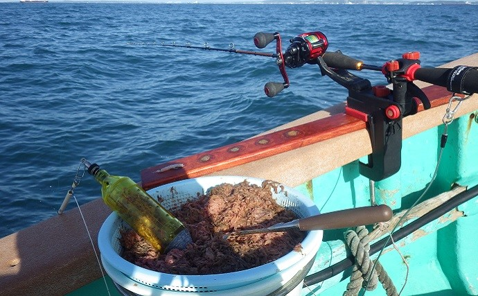 船で狙うクロダイ釣りに初挑戦 良型本命6匹に特大アジ【千葉・太海丸】