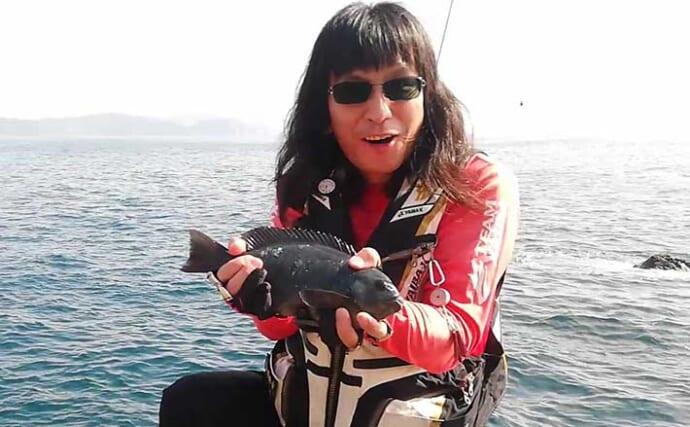 沖磯フカセ釣りで超低活性のグレに挑戦 攻略の5つのキモとは?【高知】