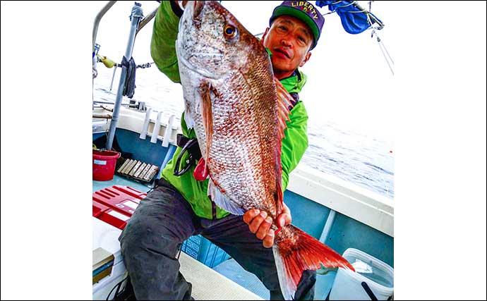 沖のルアー釣り満喫 タイラバ・ジギング・イカメタル【福岡・海政丸】