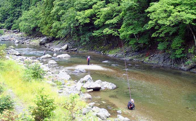 【2021滋賀】アユトモ釣りオススメ河川:葛川 増渇水時に入れ掛かりも
