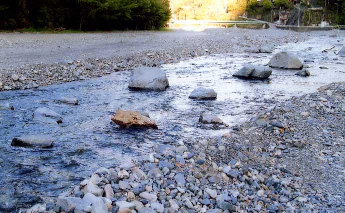 【2021山梨県】鮎トモ釣りオススメ河川:丹波川 水質よくアユは美味