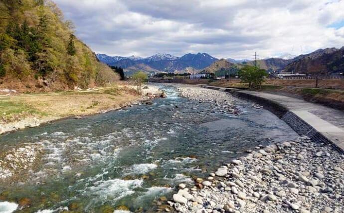 【2021新潟】アユトモ釣りオススメ河川:魚野川 エリアにより川相多彩
