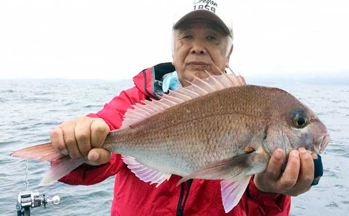【愛知・三重】沖のエサ釣り最新釣果 アジ&イサキのリレー船で好釣果