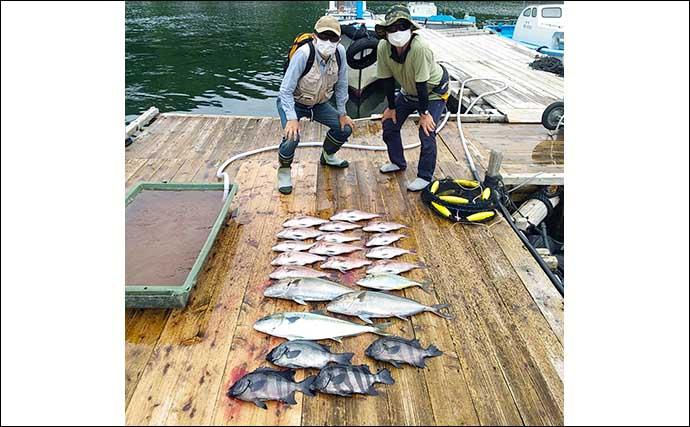 【三重】海上釣り堀最新釣果 青物&マダイの2ケタ釣果が各地で続々