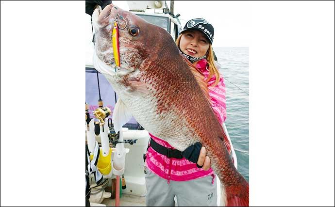 【福井】沖釣り最新釣果 ジギングやタイラバで70cmオーバー大ダイ続々