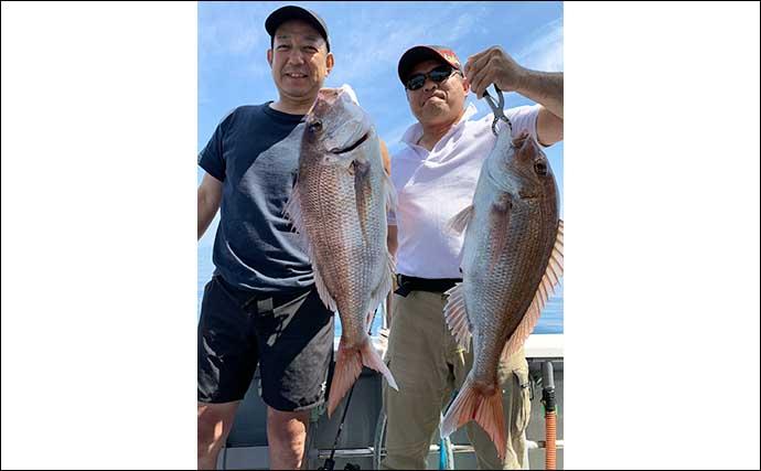 【大分・熊本】沖釣り最新釣果 50cm級の特大アジにイサキも大型顔出し