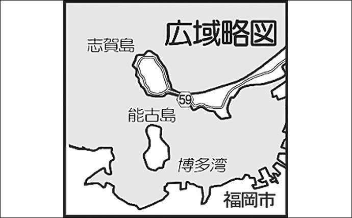 デイエギング満喫 カラーチェンジで500g頭にアオリ3尾【福岡・志賀島】