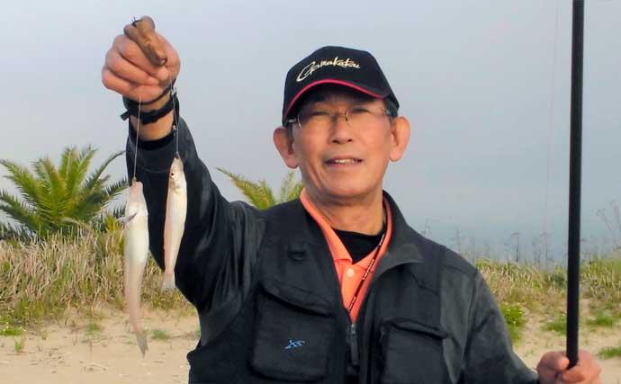 投げキス釣りで36匹 昨年より早い開幕で今後にも期待大【三重】