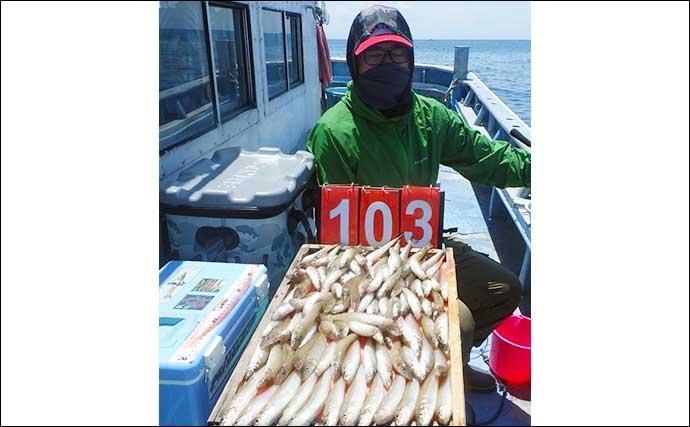 【愛知】沖のエサ釣り最新釣果 超大物イシナギ狙いで50kg級頭に7匹