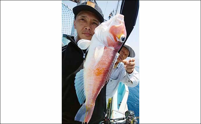 【福岡】沖のエサ釣り最新釣果 根魚にマダイにイサキと多彩魚種に笑顔