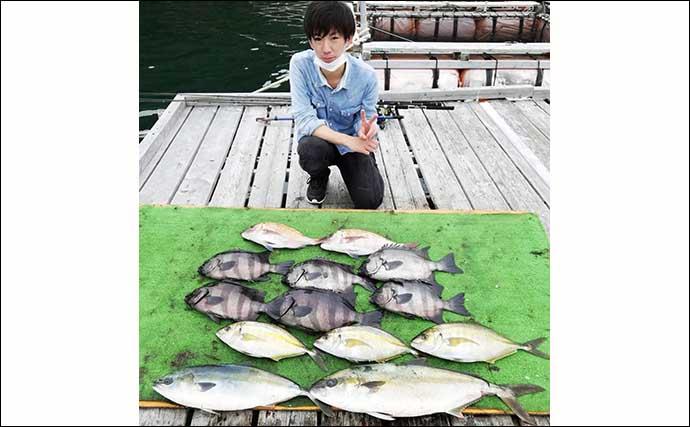 【三重・愛知】海上釣り堀最新釣果 手軽に青物&マダイの強引堪能
