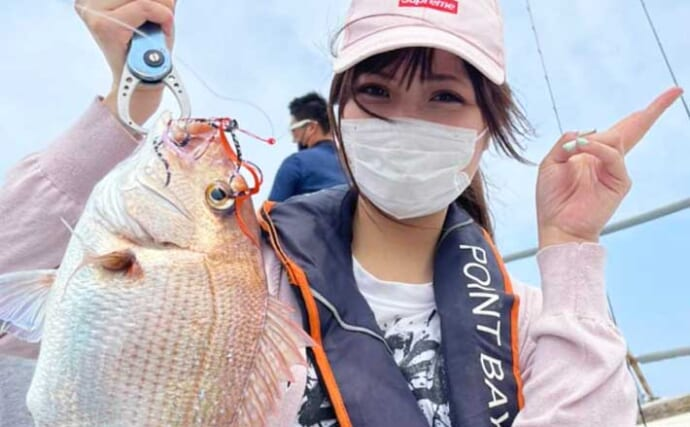 【響灘】沖釣り最新釣果 初心者でもタイラバ&SLJで好釣果のチャンス