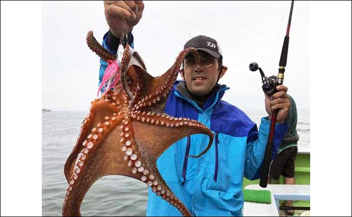 【愛知】沖のエサ釣り最新釣果 旬の大型抱卵イサキ高活性で狙い目