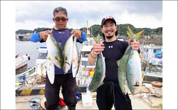 【愛知】オフショアルアー最新釣果 エギタコ釣りで3kg頭に良型マダコ