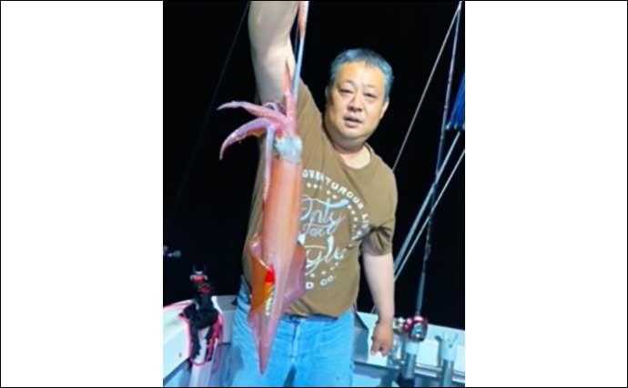 【玄界灘】夜焚きイカ最新釣果 ひと雨ごとに釣果上向きで3桁釣果続々