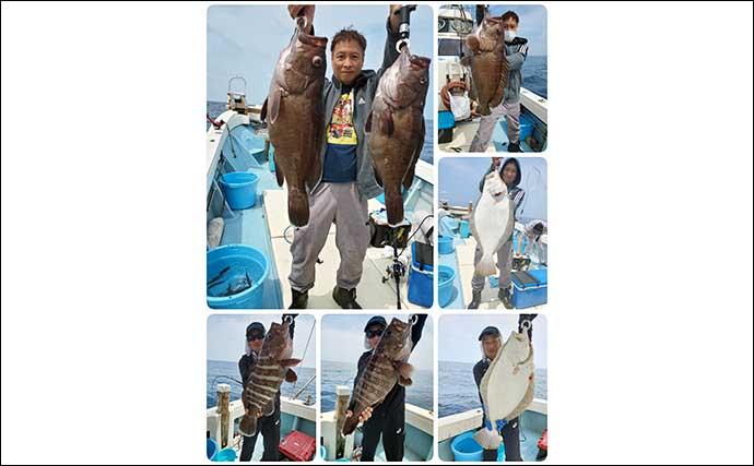 【福岡】沖のエサ釣り最新釣果 ひとつテンヤで好ゲスト含めマダイ良好