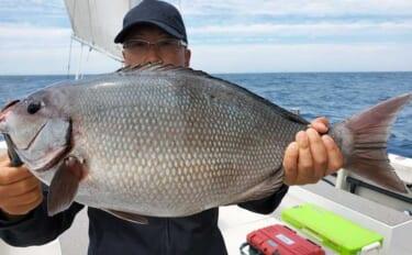 【大分・熊本】沖釣り最新釣果 62cmの特大尾長グロ(グレ)堂々浮上