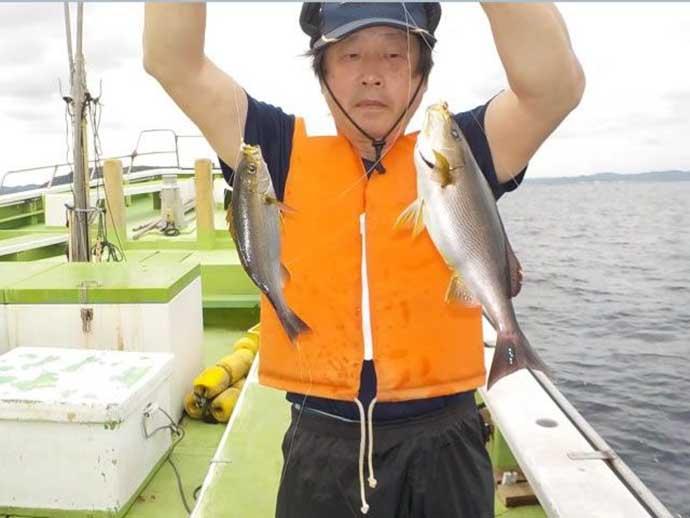 昨日ナニ釣れた?沖釣り速報:東伊豆の遠征船でホンガツオ乱舞【関東】