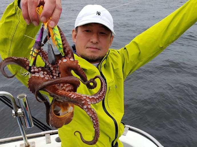 週末ナニ釣れた?沖釣り速報:東京湾のマダコ乗り良好【関東】
