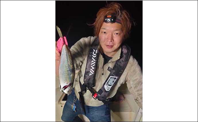 尺アジ乱舞のバチコンアジング 初挑戦でクーラー満タン【石川・能登】