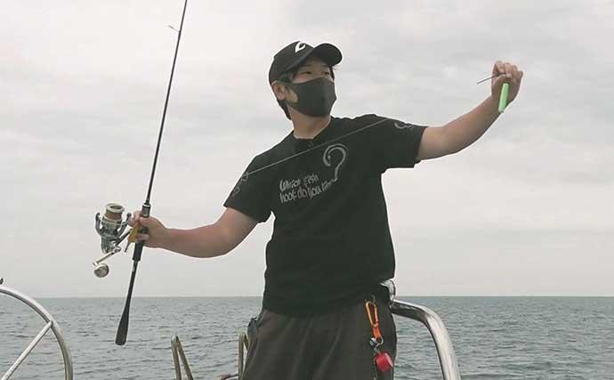 『オモリグ』一本勝負で若狭湾マイカ攻略 竿頭の仕掛けの鉄則とは?