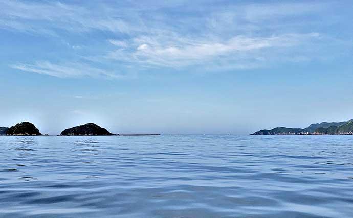 自由気ままなボート釣り堪能 釣り方こだわらずシロアマダイ手中【三重】