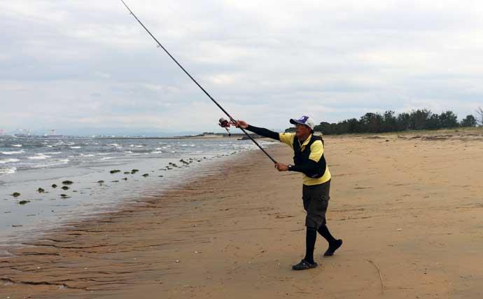 【2021中部】投げキス釣り本番到来 サーフの攻略法を徹底解説
