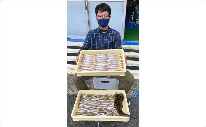 【愛知】船釣り最新釣果 シーズン本番迎えたSLJで多彩魚種が顔出し
