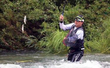 【中部2021】梅雨明ければアユ釣り最盛期 「瀬釣り」で数釣り目指そう