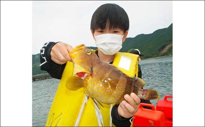 【愛知・三重】沖のエサ釣り最新釣果 レンタルボートでハタ類釣果上昇中