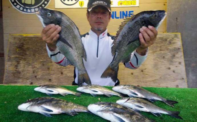 【三重】カカリ釣り最新釣果 年無しクロダイに良型カワハギも顔出し