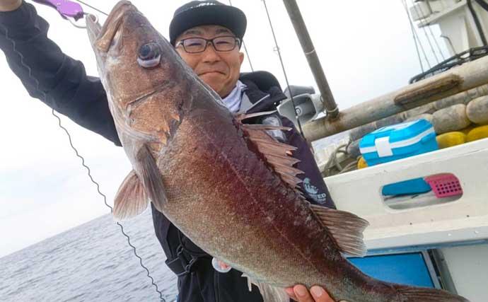 【福井・石川】沖釣り最新釣果 スロージギングで5kg級アラにマダラ続々