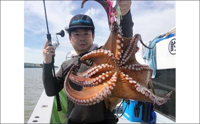 【愛知・三重】沖釣り最新釣果 マダコシーズン本格化にキス100匹超えの爆釣