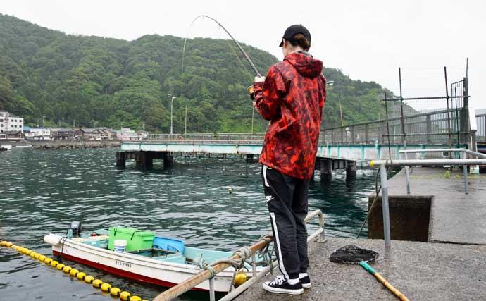 初心者でも楽しめる海洋釣り堀でマダイ17匹【福井・海釣り公園みかた】