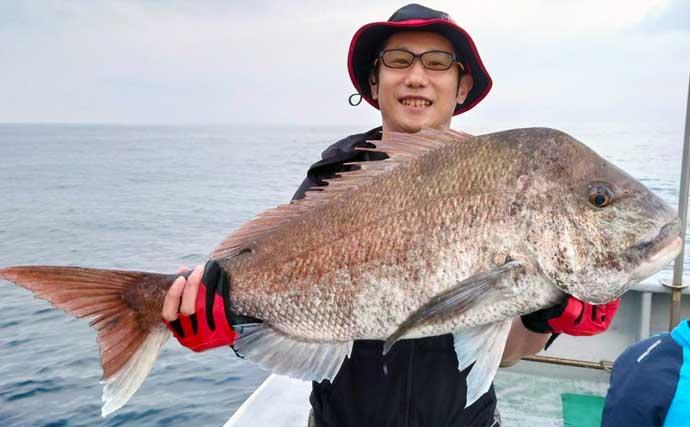 【福井・石川】船釣り最新釣果 SLJやタイラバで大型マダイ続々浮上