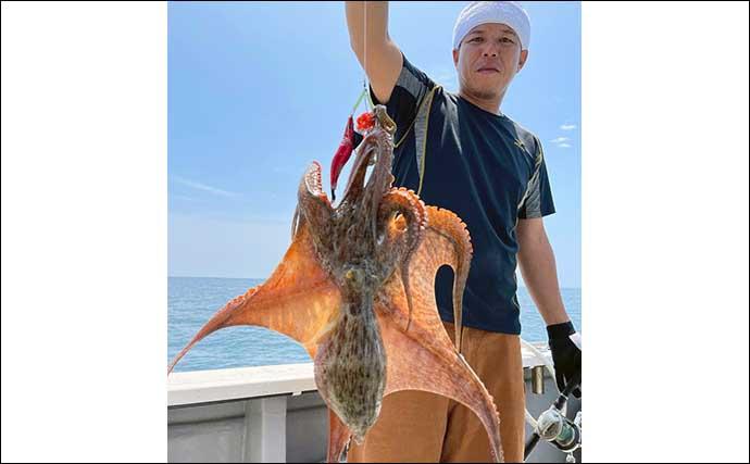 【大分・熊本】沖釣り最新釣果 島原沖でドラゴン級含めタチウオ50尾超