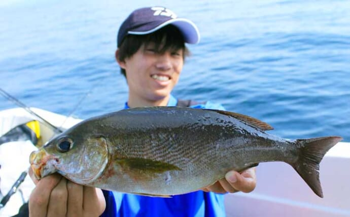 SLJゲームで多魚種好釣果 早めのピッチに好反応【長崎・Seasonal】