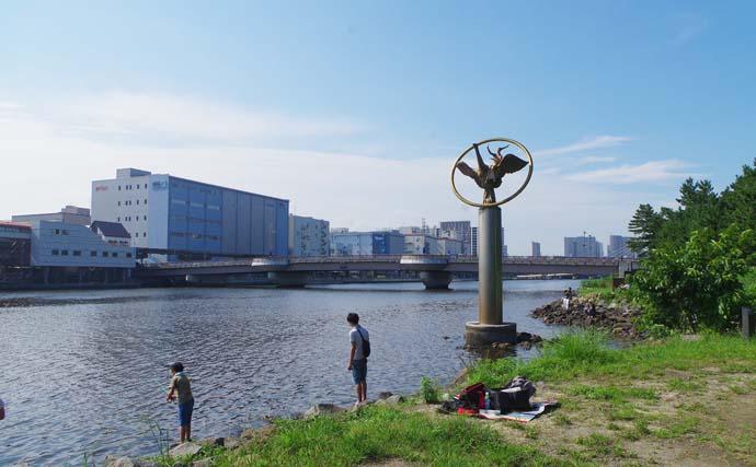 東京都心の京浜運河ハゼ釣り場を紹介 お手軽ちょい釣りにオススメ【東京】