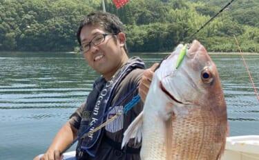 レンタルボートでルアー五目 タイラバ&SLJでマダイ好調【熊本・天草】