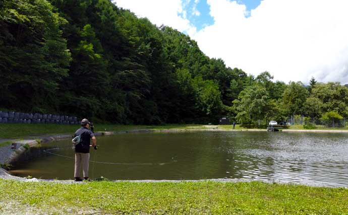 管理釣り場スタッフが教える「夏のエリアフィッシングの魅力と攻略法」